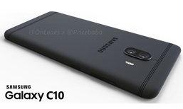 Samsung Galaxy C10 เผยภาพเรนเดอร์ โชว์ชัดมาพร้อมกล้องคู่เป็นรุ่นแรกของค่าย