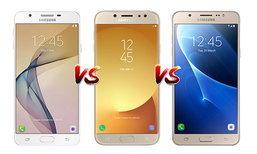 เทียบ Samsung Galaxy J7 Pro, J7 Prime และ J7 Version 2 (2016) สามสมาร์ทโฟน J-Series รุ่นเด็ด