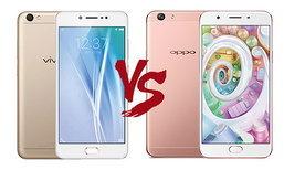 เปรียบเทียบ Vivo V5 และ OPPO F1s ที่สุดของสมาร์ทโฟนเซลฟี่! ด้วยกล้องหน้าความละเอียดสูง