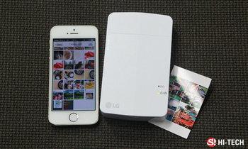 [รีวิว] LG Pocket Photo PD251 เครื่องพิมพ์รูปจิ๋ว ฉลาด เล็ก และว่องไว
