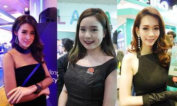 รวมรูปพริ้ตตี้ สวยคู่มือถือในงาน Thailand Mobile Expo 2017 ต้นปี