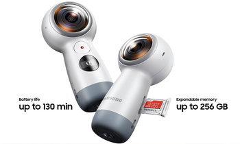 Samsung เปิดตัว Gear 360 รุ่นใหม่กล้องถ่ายภาพแบบ 360 ที่จับง่ายและถ่าย Live ได้แล้ว