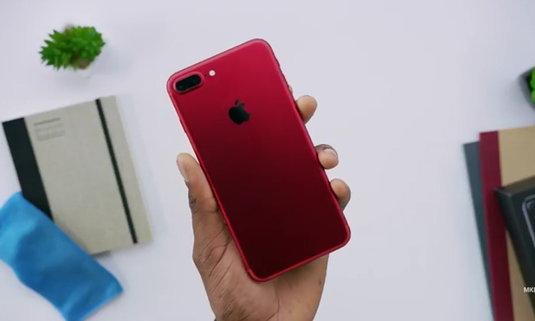 แกะกล่อง iPhone 7 Plus สีแดงใหม่ล่าสุด สวยฟรุ้งฟริ้งแค่ไหนมาดูกัน