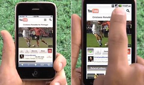 ยูทูบเวอร์ชันโมบายเจ๋งกว่าแอพในไอโฟน