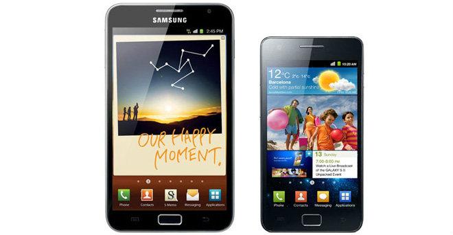 Samsung Galaxy Note S และ Samsung Galaxy S II Plus รุ่นใหม่กำลังจะมาในปีนี้!