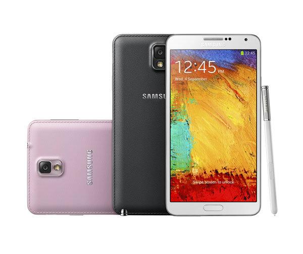 Samsung Galaxy Note 3  เปิดตัวอย่างเป็นทางการแล้ว !