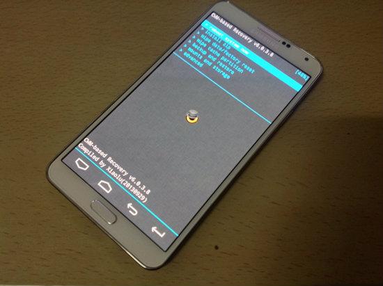 ขั้นตอนการ Root Galaxy Note 3 (SM-N9005) พร้อมติดตั้ง CWM 6.0.3.8