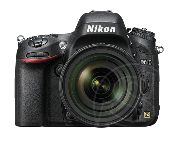 D610 กล้องดิจิตอล SLR แบบฟูลเฟรมที่เล็กและเบาที่สุด