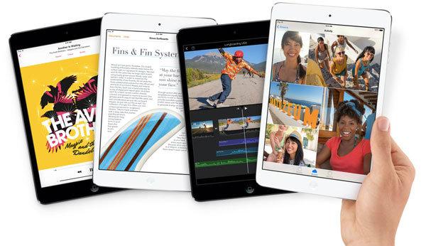iPad mini 2 (ไอแพด มินิ 2) เปิดตัวแล้ว ! มาพร้อมหน้าจอแบบ