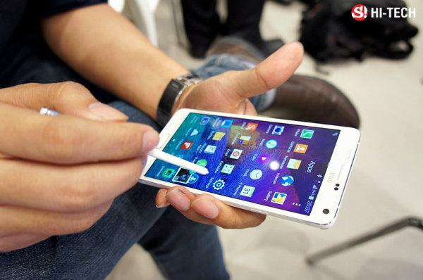 Preview: พรีวิว Samsung Galaxy Note 4 ของจริงตัวเป็นๆ