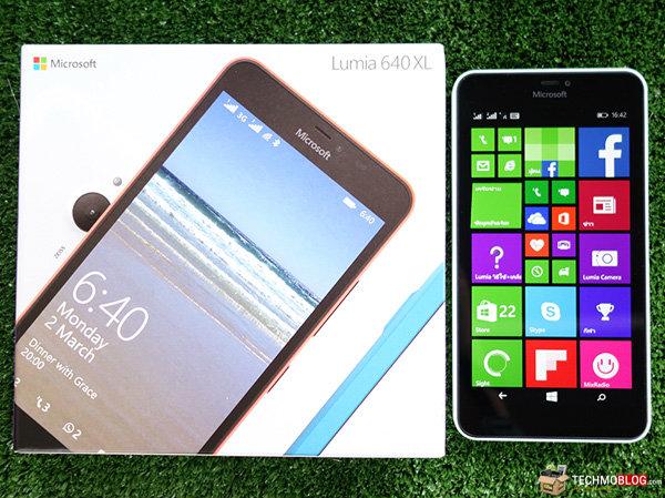 [รีวิว] Microsoft Lumia 640 XL Dual SIM วินโดวส์โฟนหน้าจอใหญ่ถึง 5.7 นิ้ว