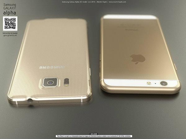 iPhone 6 เทียบกับ Galaxy Alpha คุณจะเทใจให้?