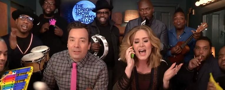 "Adele ""Hello"" เวอร์ชั่นมุ้งมิ้ง+เพลงใหม่ Water Under The Bridge"