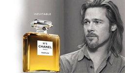 แบรด พิทท์ ผู้ชายคนแรกของ Chanel