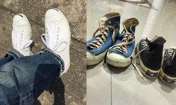 เปิดคลังรองเท้า แจ๊ส ชวนชื่น แพงสุด Converse ราคา 8 หมื่นบาท