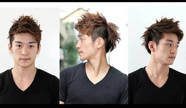 แบบทรงผมดัด แบบผู้ชายหนุ่มเกาหลี