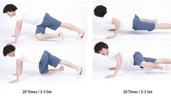 ออกกำลังกาย ต้นแขน ขาและหน้าท้อง ง่ายๆ ในท่าเดียวกัน.