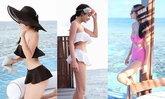 กระแตเซ็กซี่ ซู่ซ่า โชว์ภาพชุดว่ายน้ำริมทะเลมัลดีฟส์