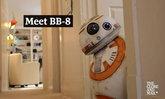 """สุดเจ๋ง! หนุ่มสาวก""""สตาร์ วอร์ส"""" สร้างหุ่นยนต์""""บีบี-8"""" เหมือนเป๊ะ"""