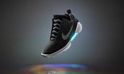 """ร้องว้าว! ในที่สุด ไนกี้ผลิตรองเท้าไร้เชือก จากหนัง """"Back to the Future"""" สำเร็จแล้ว"""