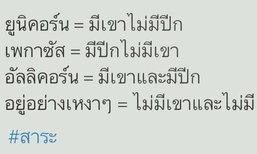 คนไทยเป็นคนตลก นั่งอ่านฮาน้ำตาไหล!!