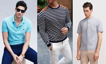 เสื้อยืดสี่แบบที่หนุ่มควรสอยมาใส่ สวมเสื้อยืดอย่างไรให้คูล ให้เท่ มีคำตอบ
