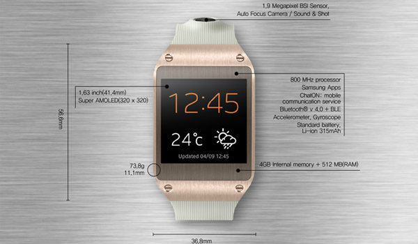 ซัมซุงเปิดตัว 'Galaxy Gear' นาฬิกาอัจฉริยะ