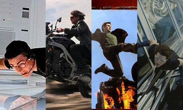 4 ฉากเสี่ยงตายสุดระทึกจาก 4 ภาคของ MISSION IMPOSSIBLE