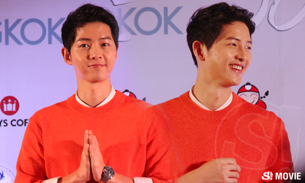 บทสัมภาษณ์ ซงจุงกิ (Song Joong Ki) กัปตันยูสามีทหารสาวไทย ก่อนแฟนมีตติ้ง