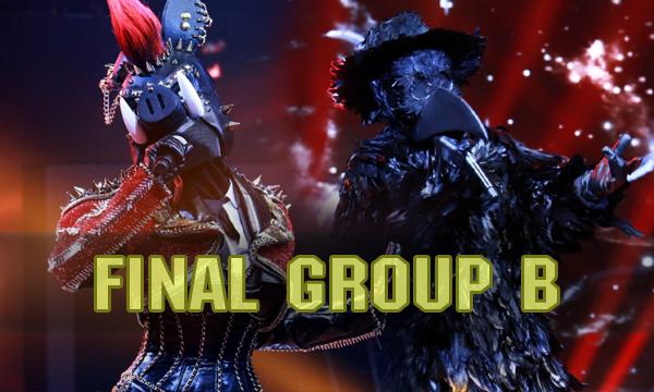 ศึกสุดท้ายกรุ๊ป B หน้ากากหมูป่า vs หน้ากากอีกาดำ ใครจะเป็นแชมป์! The Mask Singer