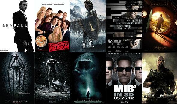 15 หนังเด็ด ปี 2012 (ครึ่งปีหลัง) ที่คุณไม่ควรพลาด!