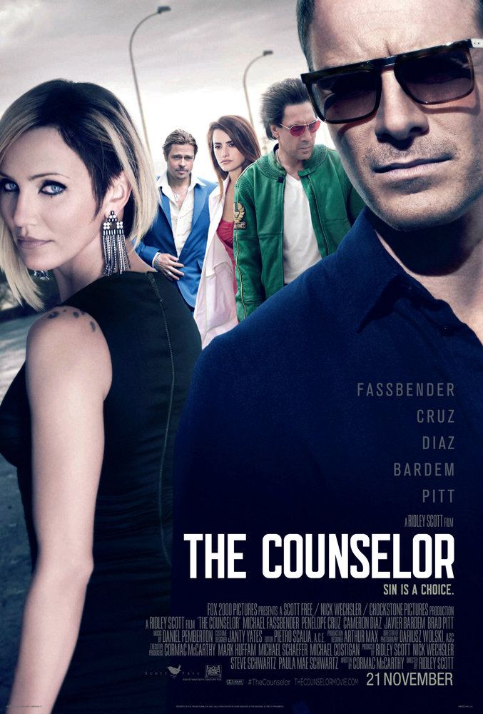โดนใจคอหนัง ดูหนังรอบพิเศษ The Counselor (ประกาศผล)