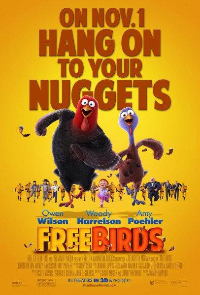 โดนใจคอหนัง ดูหนังรอบพิเศษ Free Birds (ประกาศผล)