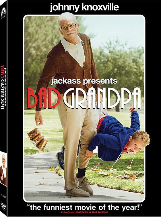โดนใจคอหนัง แจกดีวีดี Jackass Presents : Bad Grandpa (ประกาศผล)