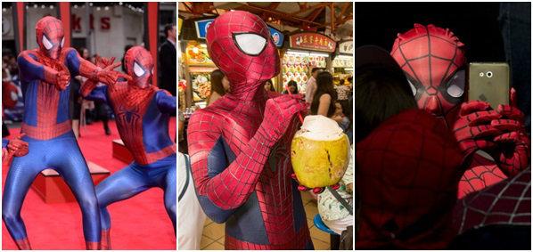 ไอ้แมงมุมฟีเว่อร์! ทั่วโลกเปิดตัว The Amazing Spider-Man 2 อย่างไร? ไปดูกัน