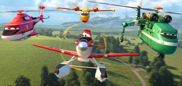 """""""Planes: Fire & Rescue"""" พร้อมบินทะยานฟ้า ในระบบดิสนีย์ ดิจิตอล 3 มิติ"""