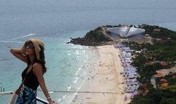 เกาะล้าน ไปเที่ยวทะเลสวย บรรยากาศดี กับ 'หมิว สิริลภัส'