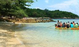 เกาะมันกลาง เที่ยวพักผ่อนแสนสงบ น้ำใสๆ หาดทรายขาวจั๊ว!!!
