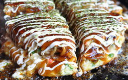 พิซซ่าญี่ปุ่น Nanjya Monjya อร่อยสไตล์โอซาก้า