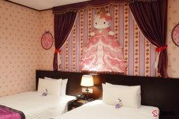 สุดน่ารัก!!..โรงแรมที่เอาใจคนรัก Hello Kitty โดยเฉพาะ