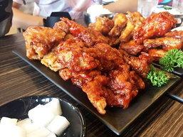 'Double Fine' ไก่ทอดสไตล์เกาหลี..อร่อย..แถมยังราคาไม่แพง