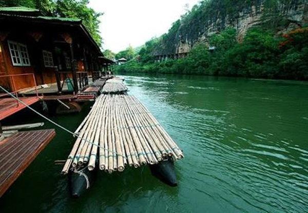 บ้านริมแคว-แพริมน้ำ ที่พักกาญจนบุรี
