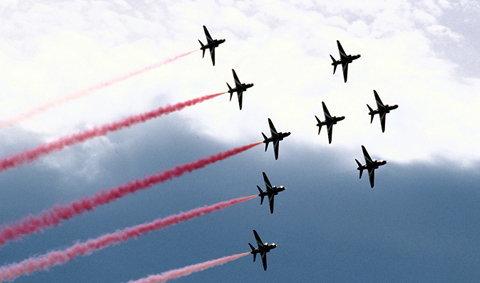 มหกรรม 'Air Show' เฉลิมพระเกียรติ 83 พรรษา