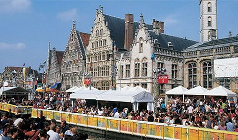 เมือง Ghent เมืองท่าที่น่าค้นหา