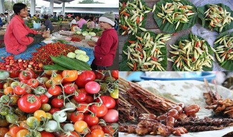 อร่อยราคาเบาๆ ในตลาดเช้าโขงเจียม