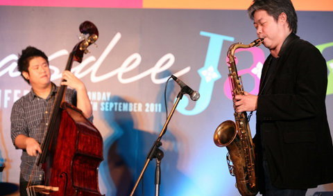เพลิดเพลินกับคอนเสิร์ตแจ๊ส 'Sawasdee Jazz #1'
