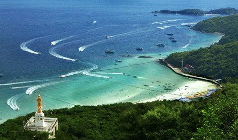 เกาะล้าน จ.ชลบุรี หาดสวรรค์ของคนกรุง