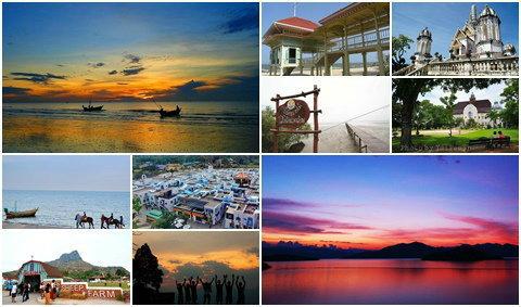 10 จังหวัด 100 อันดับสุดยอดที่เที่ยวฮิตทั่วเมืองไทย