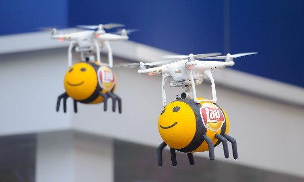 กองทัพผึ้งบุก!! ไล่ตามความหวานของเลย์รสใหม่ทั่วกรุงเทพฯ