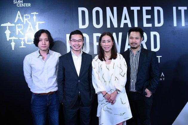 """สยามเซ็นเตอร์ เชิญชมนิทรรศการเชิงสร้างสรรค์ """"Siam Center: Donate it forward by Anon Pairot"""""""